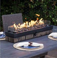 Outdoor Firepit Gas Gas Pit Ebay