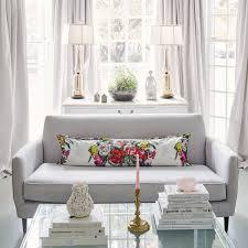 Gray Sofa Decor Acrylic Coffee Table Design Ideas