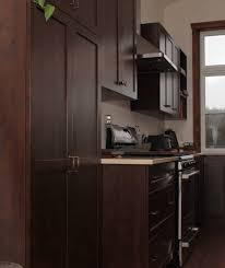 cuisine armoire brune armoires de cuisine de mélamine et rénovation cuisine mt