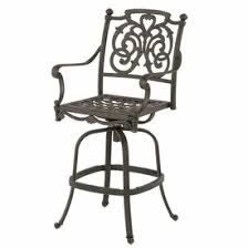 Bar Height Patio Set With Swivel Chairs Bar Height Patio Furniture Family Leisure