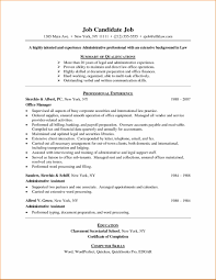 Resume Sample For Internship Pdf by Entry Level Resume Example Job Examples 2014