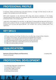 Resume Sample Copy Paste by What Should Be The Key Skills In Resume Free Resume Example And