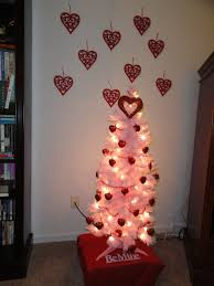 simple valentine home decorating ideas with valentin tree with