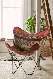 Cushioned Butterfly Chair by Bobo Kilim Butterfly Chair Cover Urban Outfitters