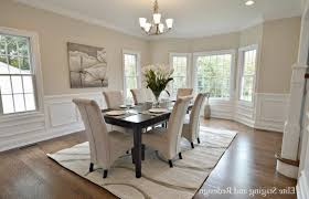 Contemporary Round Dining Room Sets Two White Leather Dining Chair - White leather dining room set