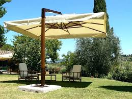 Patio Umbrellas Offset Ideas Rectangular Offset Patio Umbrella Or Image Of Patio