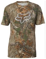 fox motocross shirts fox racing realtree premium t shirt revzilla