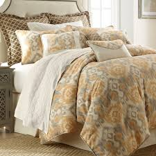 Ikat Home Decor Fabric by Casablanca Ikat Medallion Moroccan Comforter Bedding