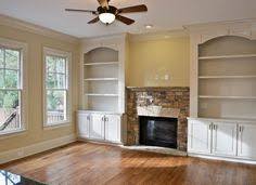 Fireplace With Built In Cabinets Built In Bookshelves Around The Fireplace Love It All Project