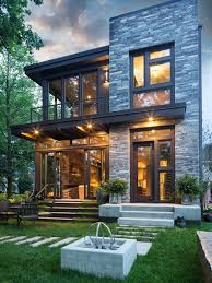 modern home exteriors modern home in oakville ontario modern