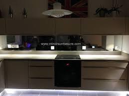 credence cuisine miroir credence miroir pour cuisine rutistica home solutions