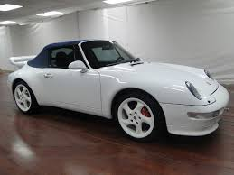 white porsche 911 convertible 1996 porsche 911 996 for sale white and convertible