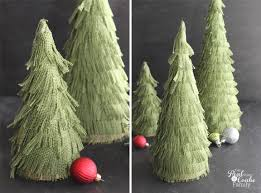burlap for christmas tree christmas lights decoration