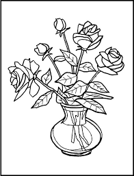 gallery outline pictures of flowers for glass painting drawing