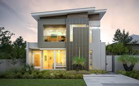 floor plans narrow lot homes craftsman house width modern simple