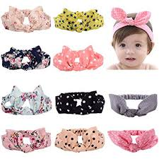 hair bands for babies toptim baby headbands turban knotted girl s hairbands