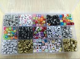 bead bracelet kit images 2018 rainbow loom bands 15 designs assorted alphabet letter bead jpg