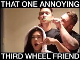 Third Wheel Meme - third wheel 12 slap laughter by sdl