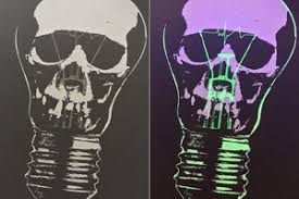 glow in the dark poster screen printed posters atmosphere printing company