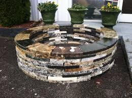 Granite Fire Pit by 40 Backyard Fire Pit Ideas U2014 Renoguide