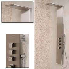 Bathroom Shower Panels How To Choose The Best Shower For Your Bathroom Adorable Home