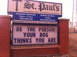 5 church signs with wise words to live by