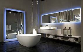 Exclusive Luxury Bathroom Interior In A Modern Penthouse Stock - Exclusive bathroom designs