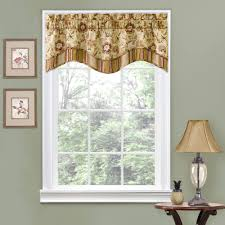 charming bedroom curtains with valance beautiful window treatments