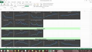 Spreadsheet Charts Stock Inventory Software Excel Spreadsheet Template Illustration