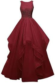 burgundy quince dresses backless gown burgundy beaded prom dresses for