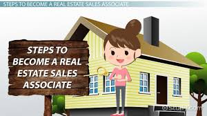how to become a real estate sales associate