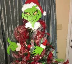 grinch christmas tree santa hat tree topper best christmas centerpiece using fresh