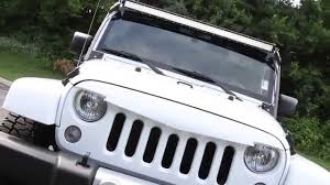 white jeep sahara 2015 white jeep wrangler unlimited sahara youtube