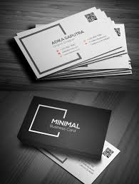minimal business cards best 25 minimal business card ideas on
