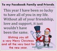 merry to my family and friends
