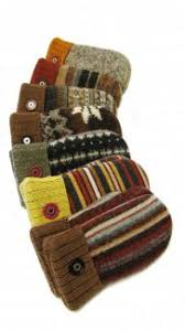 sweater mittens baked wool mittens