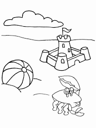 summer coloring book pages kids coloring
