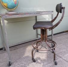Adjustable Drafting Chair Unique Industrial Drafting Stool Vintage Industrial Wood And Cast
