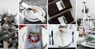 Christmas Modern Table Decoration by 15 Inspirational Ideas For Creating A Modern Christmas Table Full
