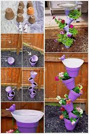 garden outstanding diy garden ideas inspiring purple round