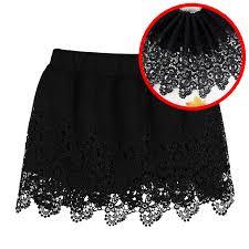wide lace ribbon 1yards 32 cm wide lace ribbon black appliqued lace trim