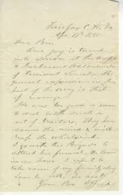8th illinois cavalry letter in reaction to lincoln u0027s death