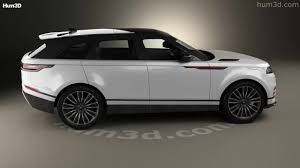 range rover land rover white land rover range rover velar 2018 3d model by hum3d com youtube