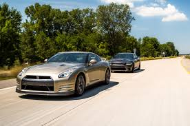nissan durango 2015 flavors of fast 2015 dodge charger hellcat vs 2016 nissan gt r
