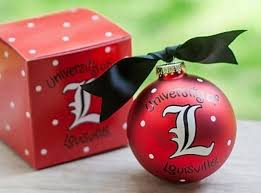 licensed ncaa college christmas ornaments complete with ribbon and