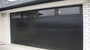Garage Door Interior Panels Flat Panel Garage Door Home Interior Design