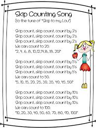 Counting By 7s Song Best 25 Skip Counting Activities Ideas On Skip