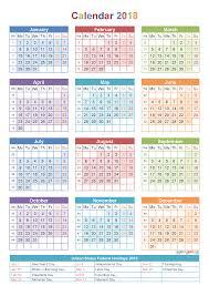 printable weekly calendar for 2018 fresh 2018 calendar by week print calendar