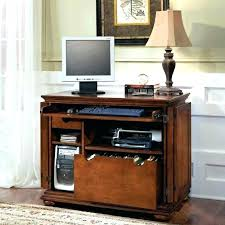 Small Computer Desk For Kitchen Compact Office Desk Cabinet Compact Office Cabinet And Hutch Full