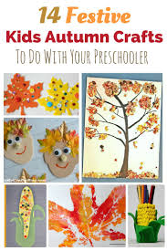 14 festive kids autumn crafts to do with your preschooler art